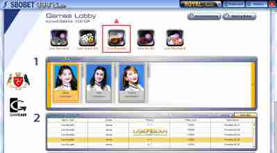 welcome agen SBobet Casino Online