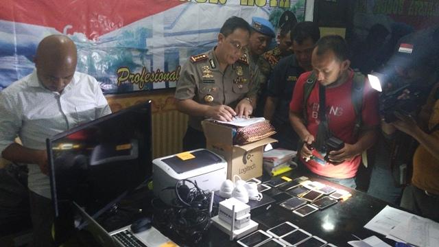 Bandar Besar Bogor Internasional Tertangkap