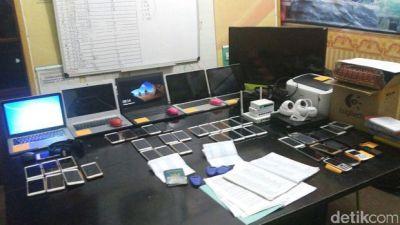 Polisi Bongkar Judi Online di Bogor, 24 Orang Ditangkap, 22 Wanita